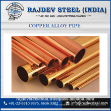 Bien conocido fabricante y exportador de cobre de aleación de tubería 70/30 para la venta