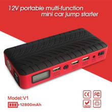 Arrancador portable del salto de la batería de coche recargable 12800mAh