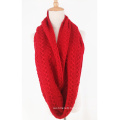 Unisex Neck Warmer Fancy Thick Winter Knitted Loop Scarf Snood (SK154)