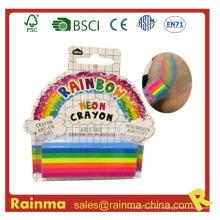 Crayón de pintura del cuerpo del arco iris para el regalo de la decoración del partido