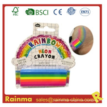 Rainbow Body Painting Crayon for Party Decoration Gift