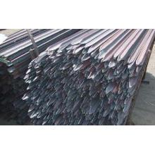 Pó chega de aço inoxidável de baixo custo e posto / piquete estrela (YB-002)