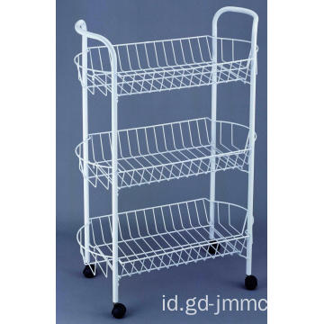 3 Tier Storage Cart Dengan Roda