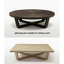 Casa de estilo americano mesa de centro madera tabla de té (T-49 & T-50)
