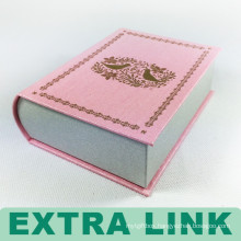 Wholesale newly book shaped special top grade deluxe box