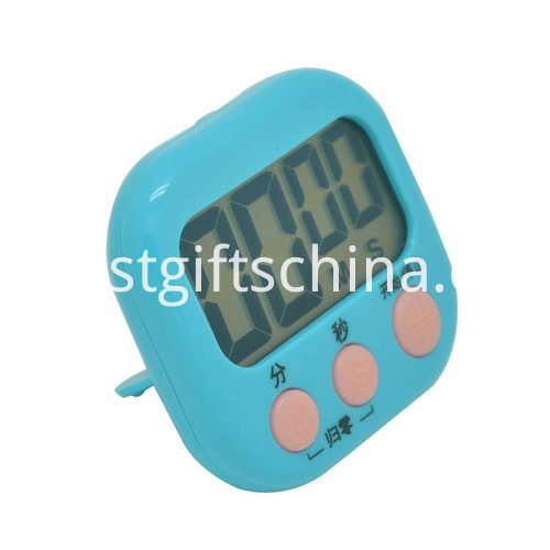 Promotional Plastic Square Shaped Timer_1