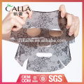 2017 hot sales black lace máscara facial de hidrogel para OEM