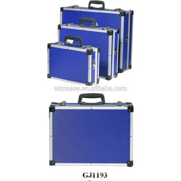 Caja de herramientas popular fuerte de buena calidad set de ventas por mayor con piel del panel del ABS