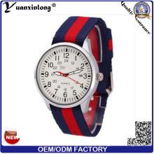 Yxl-629 Color Nylon Vogue Band Fashion Watch 2015 Hottest Nato Wrist Watch Quartz Popular Vogue Stainless Steel Watch
