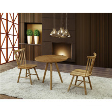 Solid Wood Design Bistro Tables and Chairs Set (FOH-BCA41)