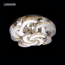 suspension ceiling lamp crystal light luxury chandeliers