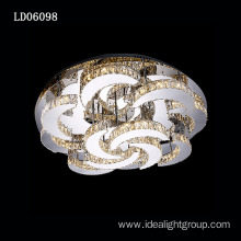 suspension ceiling lamp crystal light luxury chandeliers