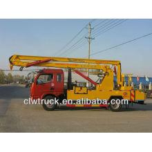 Dongfeng DLK 16m camión plataforma de trabajo aéreo