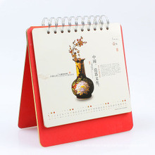 High Quality Hot Stamping Desk Calendar