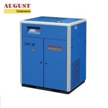 AGOSTO Compressor de parafuso isento de óleo