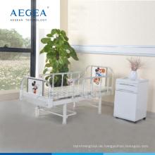 AG-CB001 Ein-Funktion Stahl Krankenhaus Kinder Station Klinik Bett