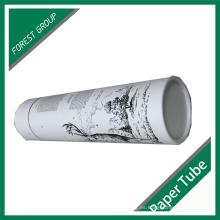 Nuevo tubo de papel de estilo para embalaje de regalo