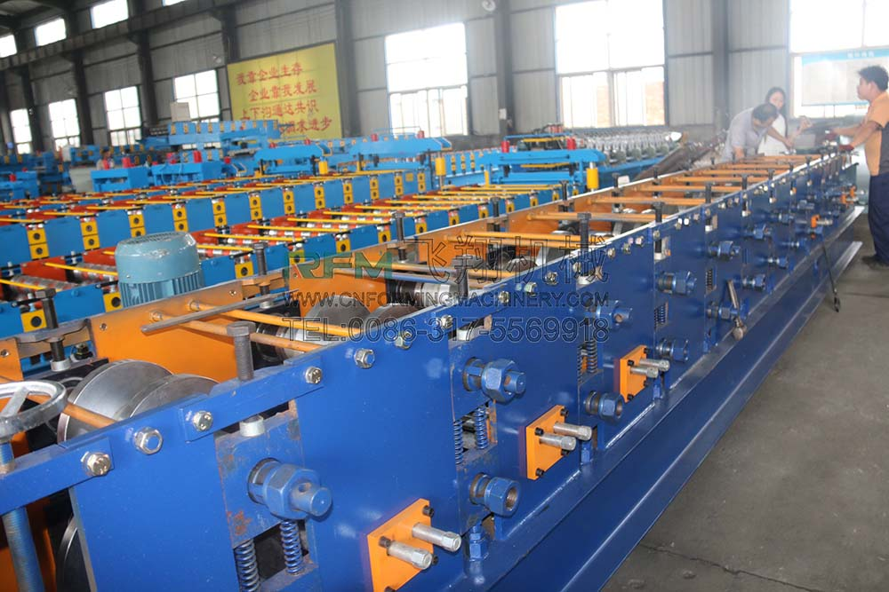 Automatic CZ Purlin Profile Roll Forming Machine