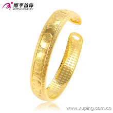 Fashion Elegant 24k Gold Color Imitation Jewelry Bangle with Word-Plated (51443)