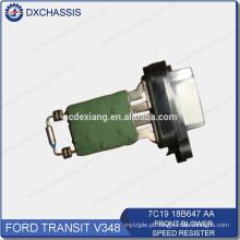 Resistente genuíno 7C19 18B647 AA da velocidade do ventilador dianteiro do trânsito V348