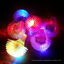 led light flashing jelly ring