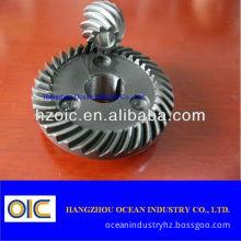 Steel Helical Bevel Transmission Gear