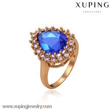 13276-Xuping Noble Women Teardrop 18k Jewelry Wedding Ring