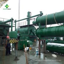 Équipement de disposition de distillation de carburant du gaspillage 10Ton avec la technologie de lates