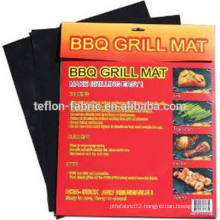 As seen on TV food grade reusable non sticky bbq roasting mat make grilling simple easy clean dishwasher safe