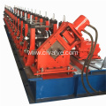 Hydraulic Cutting Steel C Purlin Roll Forming Machine