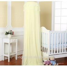 Moustiquaire 100% polyester circulaire suspendue pour bébé