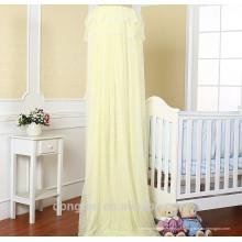 100% poliéster circular pendurado bebê mosquito net