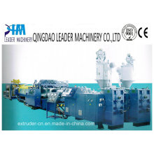 PVC/HDPE Double Wall Corrugated Pipe Extrusion Line