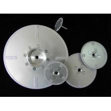 coupeur de disque de diamant brasé par vide de haute qualité pour le béton et le mur