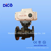 Electric 2PC Flange Ball Valve with Wcb Material (Q941F-16C)