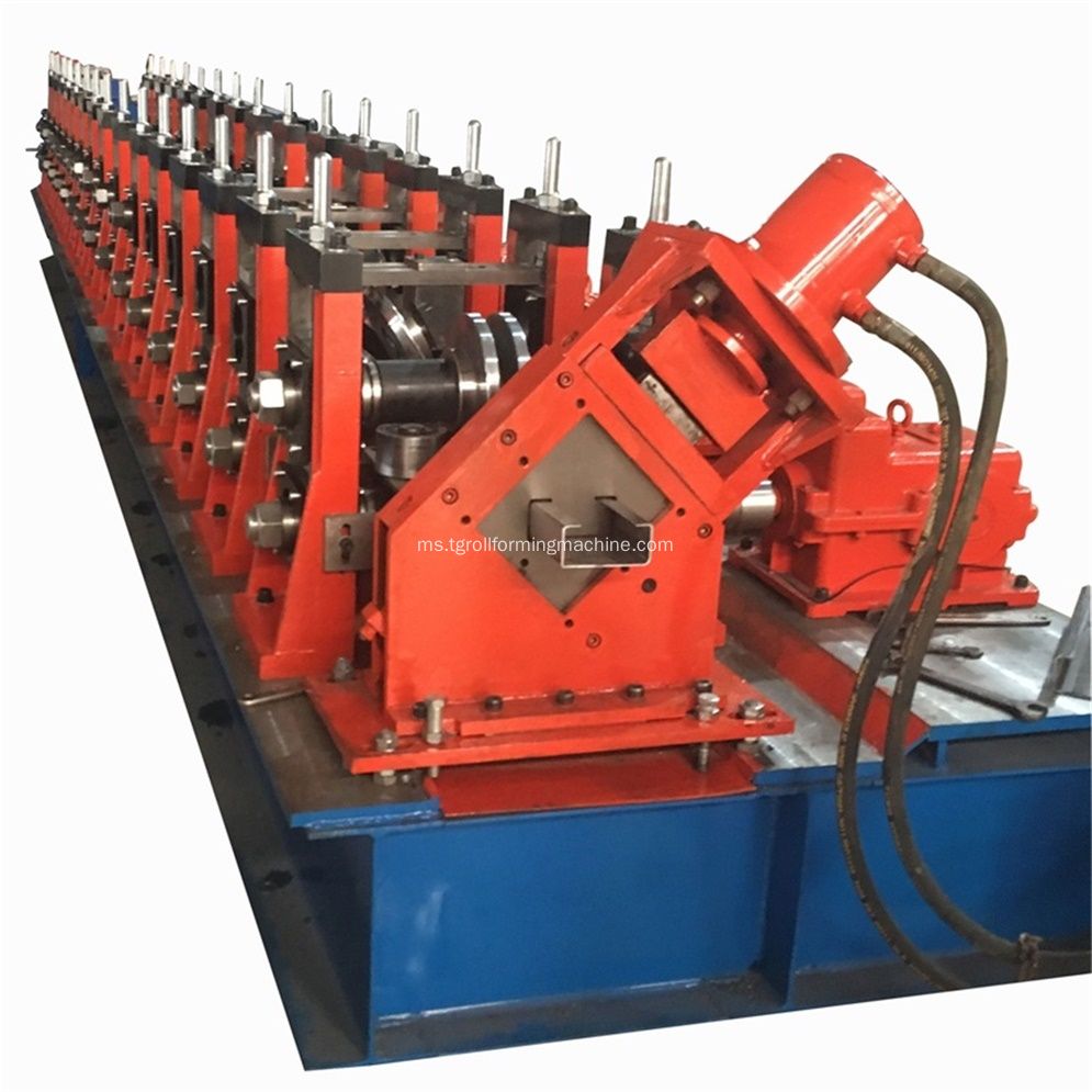 Full Automatic Steel C Purlin Roll Forming Machine