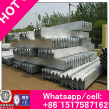 Proteção de forma de onda anticolisão de aço galvanizado flexível DIP quente para viga W usada para rodovias