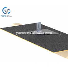 Solar Shingles Asphalt Shingle Roof Mount Flashing 200KW Solar Panel System