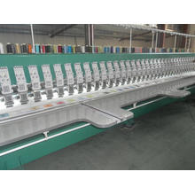 Machine de broderie plate (plus de 12 mètres de longueur)