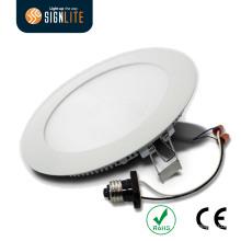 Lâmpada embutida do painel do diodo emissor de luz Downlight / Slim do diodo emissor de luz com garantia do CE RoHS 3years