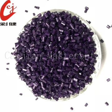 Spraying Purple Masterbatch Granule Gratis