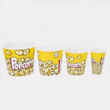 6 tamaños disponibles Popcorn plástico cubo (B06-A1)