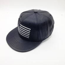 Fashion Custom Logo PU Hip-Hop Hat (ACEW085)
