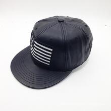 Модный пользовательский логотип PU Hip-Hop Hat (ACEW085)