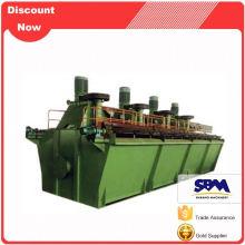 Mineral processing flotation separator, flotation plant