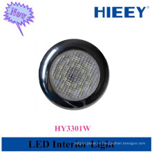 LED круглый потолочный светильник с подсветкой