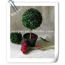 Arbre de boule d'herbe alimenté solaire / solaire jardin décoratif RP0001