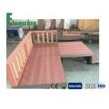 Plancher de bois japonais design WPC