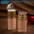 Innovative, einzigartige und interessante hochwertige Runde 50ml Doppelschichten Kunststoff-Flasche airless Kosmetikverpackungen