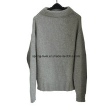 100% Cashmere atacado malha pullover para as mulheres